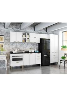 Cozinha Compacta Nevada 9 Pt 7 Gv Branca