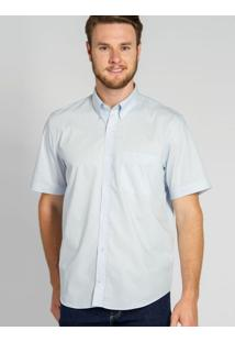 Camisa Casual Light Blue