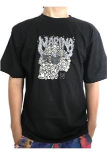 Camiseta Narina Skate Caveiras Masculina - Masculino