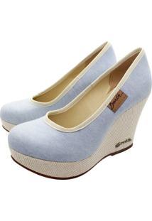 Sandália Barth Shoes Land Azul Jeans