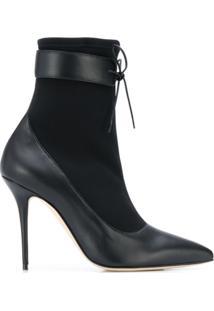 Manolo Blahnik Ankle Boot Said - Preto
