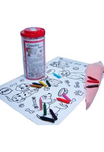 Quadro Mágico Kits For Kids Pets Multicolorido