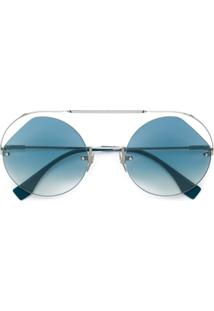 8c169b2f2bfb2 Óculos De Sol Azul Fendi feminino   Shoelover