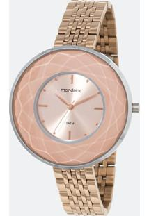 Kit Relógio Feminino Mondaine 99054Lpmvge8K1 Analógico 5Atm + Pulseira