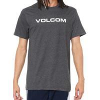 Camiseta Volcom Silk Crisp Euro Masculina - Masculino 394200c2684