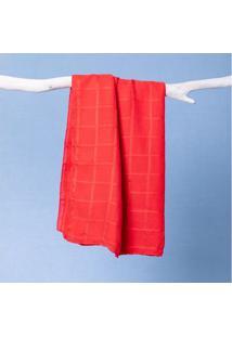 Lenço Joana Cor: Vermelho - Tamanho: Único