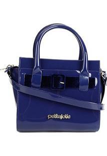 Bolsa Petite Jolie Love Bag Feminina - Feminino-Azul
