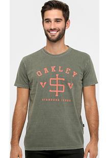 Camiseta Oakley Mod Standard Issue Tee Masculina - Masculino