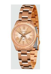 Relógio Feminino Lince Lrr4492L R3Rx