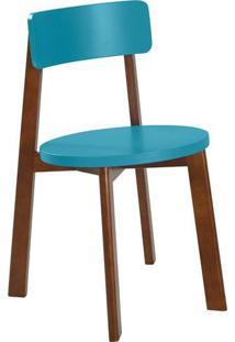 Cadeira 0941-0-279 Lina Maxima Cacau/Azul Claro