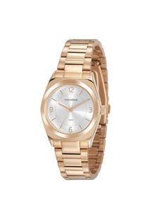 Kit Relógio Feminino Mondaine Analógico 32155Lpmvre2Ka + Pulseira Dourado