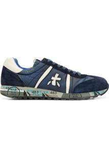 Premiata Lucy Low-Top Sneakers - Azul
