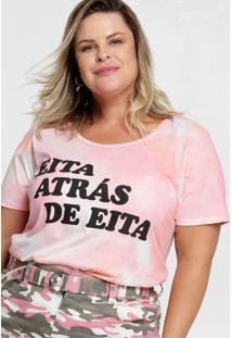 Blusa Feminina Estampa Tie Dye Plus Size Marisa