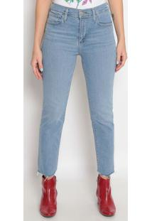 Jeans 724™ High Rise Straight Cropped- Azul Clarolevis