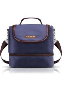 Bolsa Termica Jacki Design 2 Divisorias Ahl17398 Azul - Kanui