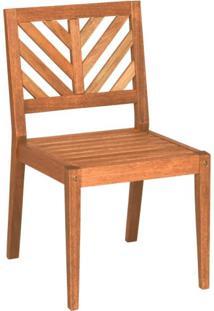Cadeira Sem Braços Eko Mestra Móveis Polisten Jatobá