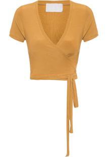 Blusa Feminina Cachequer - Amarelo