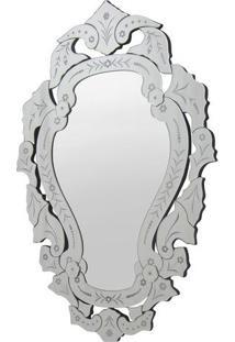Espelho Arino - Espelhado & Cinza - 90X60X1,6Cmrivatti