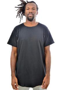 Camiseta Skull Clothing Longa Floral Masculina - Masculino