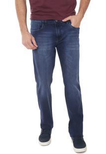 Calça Jeans Aramis Reta Milão Azul