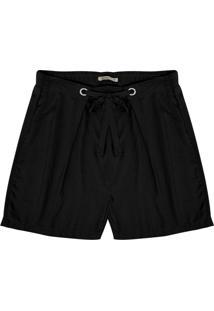 Shorts Feminino Plus Size Secret Preto - Preto - Feminino - Dafiti