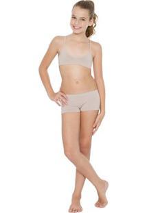 Sutiã Top Nadador - Feminino-Nude