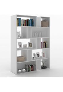 Estante Para Livros Plenty 8 Prateleiras 700007 Gris - Manfroi