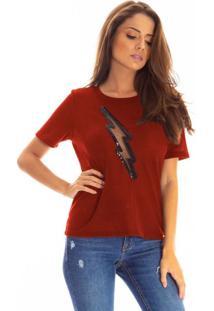 T-Shirt Bana Bana Com Recorte