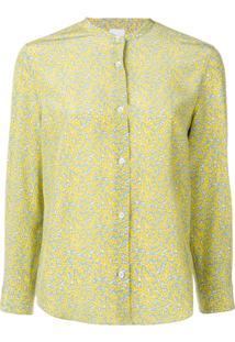 fa1064902f Camisa Amarela Floral feminina