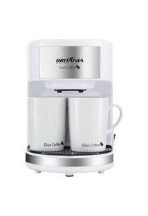 Cafeteira Britânia Duo Coffee Branca 110V