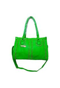 Bolsa Feminina Tacks Executiva Aphrodite Verde