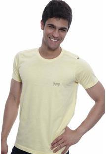 Camiseta Oitavo Ato Keyboard - Masculino-Amarelo