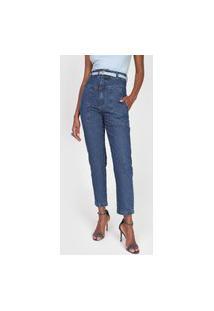 Calça Jeans Forum Slim Mia Azul