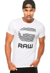 Camiseta G-Star Zebra Branca