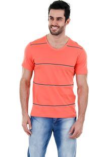 Camiseta Masculina Sg - Coral
