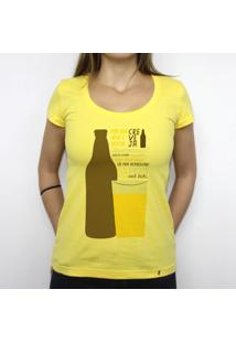 Creveja - Camiseta Clássica Feminina