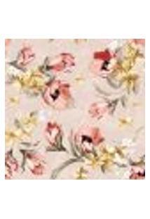 Papel De Parede Adesivo - Flores Românticas - 051Ppf