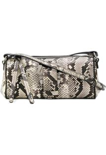 Paula Cademartori Barù Savage Snakeskin Shoulder Bag . - Neutro