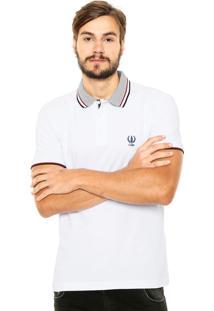 Camisa Polo Coca-Cola Jeans Regular Branca