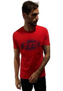 Camiseta 775 Retro Zebra - Vermelho