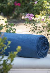 Cobertor Microfibra Marinho - Scavone - Azul Marinho - Dafiti