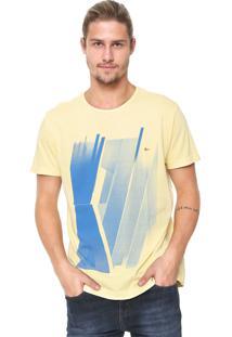 Camiseta Aramis Estampada Amarela