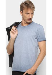 Camiseta Ellus Degradê Retrocolor Class Masculina - Masculino-Azul Escuro