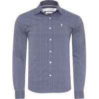 Camisa Algodao Quadriculada masculina   El Hombre 09489cfbc7