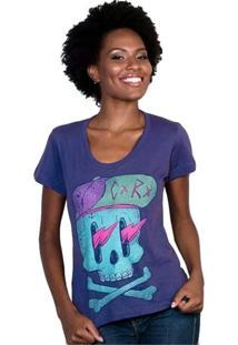 Camiseta Feminina Cx Rx Geek10 - Roxo