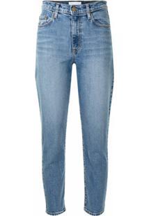 Nobody Denim Calça Jeans Kennedy Cintura Alta - Azul