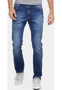 Calça Jeans Reta Colcci Rodrigo Índigo Masculina - Masculino