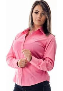 Camisa Pimenta Rosada Bethany - Feminino-Rosa