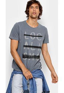 Camiseta Redley Estonada Masculina - Masculino