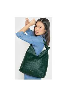 Bolsa Dumond Texturizada Verde